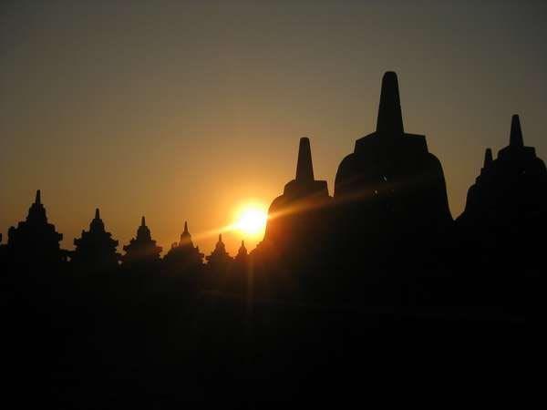 Sunrise di Borobudur Juga Menakjubkan