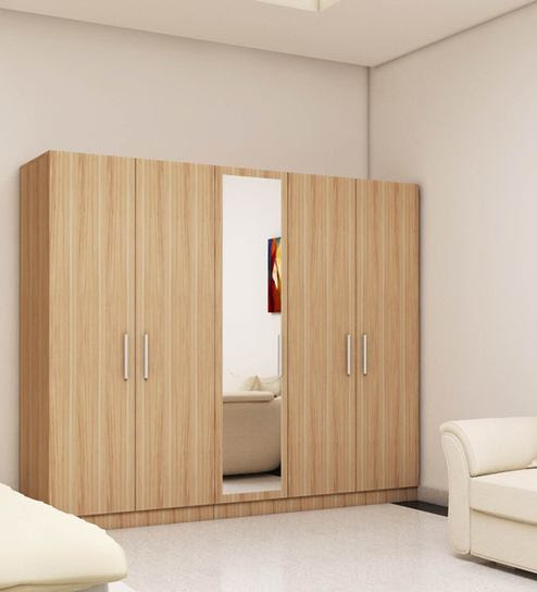five door wardrobe in swiss elm bleached finish in mdf by primorati five door wardrobe in swiss elm bsupda