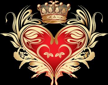 сердечко с короной