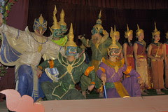 Classical Lao dance performers