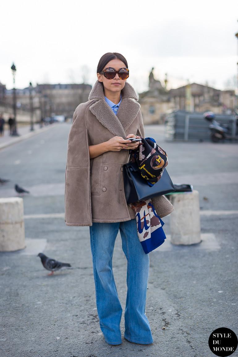 Mira Duma Miroslava Duma Street Style Street Fashion by STYLEDUMONDE Street Style Fashion Blog