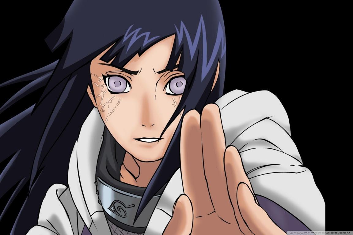 Naruto Shippuden Hinata Hyuga New Hd Ultra Hd Desktop Background