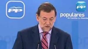 Declaraciones de Rajoy en 2010 criticando la subida de la luz del PSOE