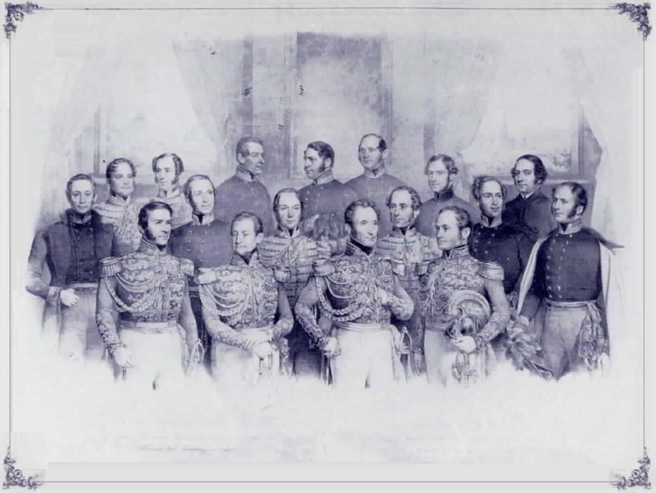 La Guardia nobile italiana nel 1843