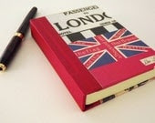 VIntage Style London Hardback Notebook