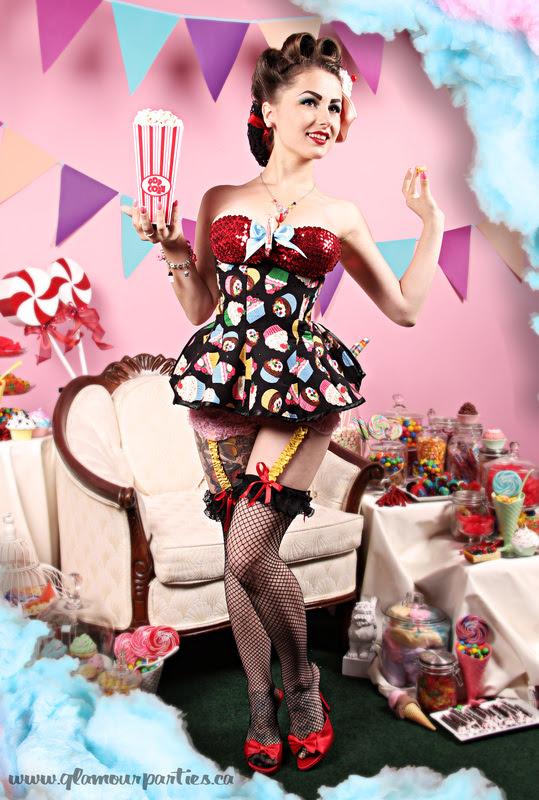 Acid Doll Pin Up Show Girl Descúbrela Love From Liina Lintu