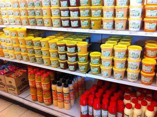 Sauces belges