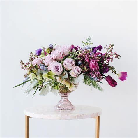 Aubergine Arrangement   Wildflora Florals   Kwiaty