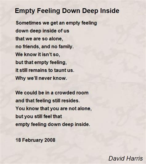 Deep Inside Feelings Quotes