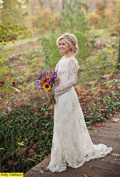 Kelly Clarkson?s Wedding Dress ? Details On Her Lovely