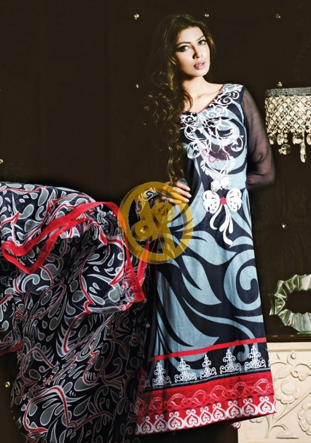 Dawood-Textile-Girls-Women-Printed-Lawn-Prints-Fashion-Suits-Kuki-Concepts-Fall-Winter-Collection 2013-14-11