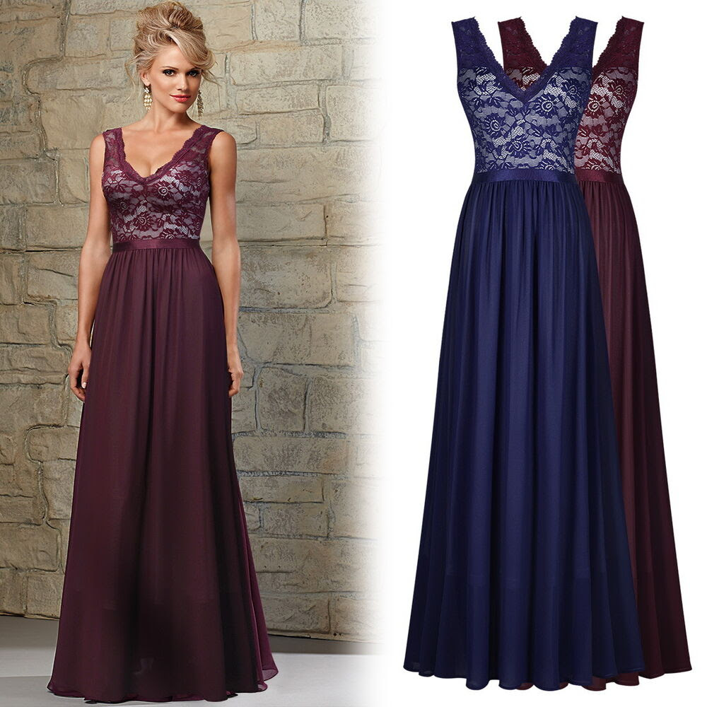 womens vintage formal bridesmaid evening gown party prom