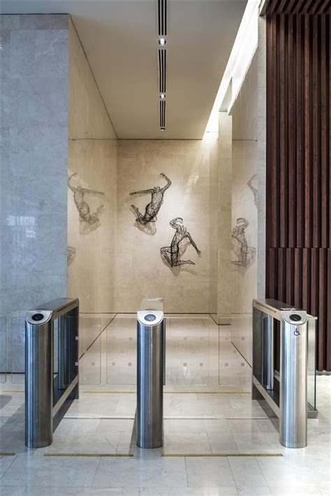 Entrance Corridor at China Square Central, Singapore by DP