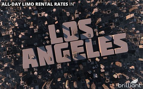 How Much Does it Cost to Rent a Limo All Day in Los Angeles?