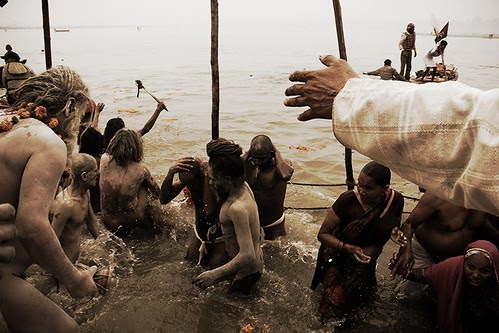 The Maha Kumbh Shahi Snan of The Naga Sadhus  Prayag by firoze shakir photographerno1