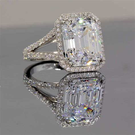 diamond rings cubic zirconia  wedding promise