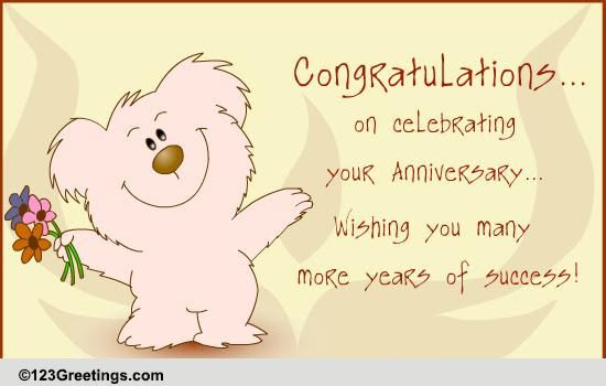 Image result for congratulations on 5 years animate