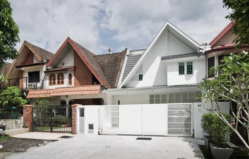 Renovation Design Rumah Teres 2 Tingkat Desain Dekorasi Rumah