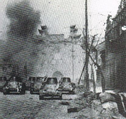 日本軍の戦車隊