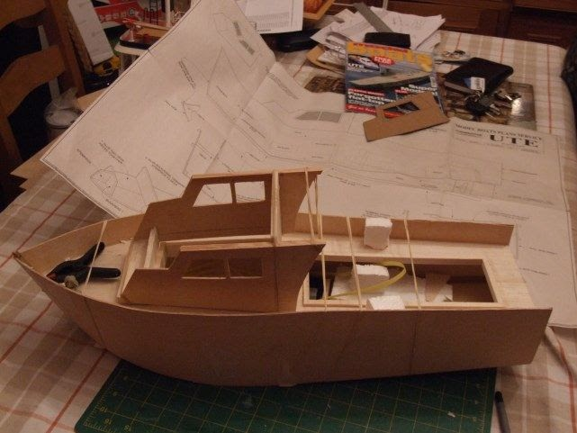 Easy to Glynn guest model boat plans | Velera