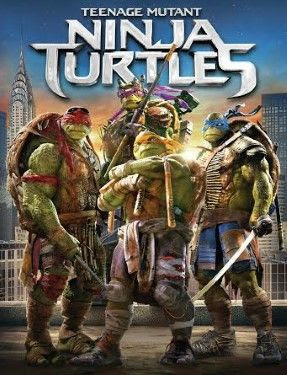Teenage Mutant Ninja Turtles Movie on Blu-ray DVD