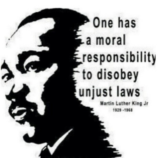 One Has A Moral Responsibility To Disobey Unjust Laws Martin