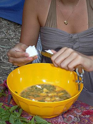 préparation de l'omelette au bruccio.jpg