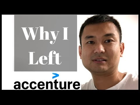 Why I left my job at Accenture (as a Salesforce Developer)