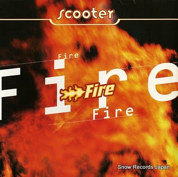 SCOOTER fire