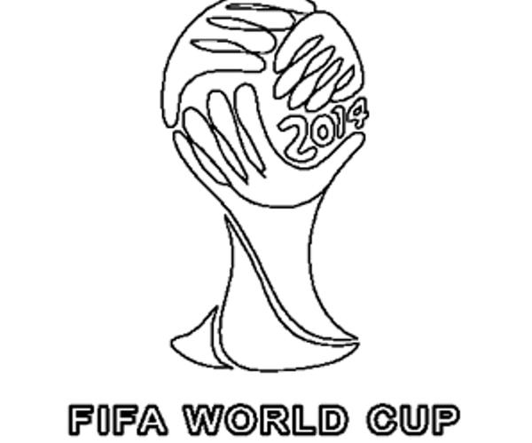 Dessin Coupe Du Monde Brasil 2014