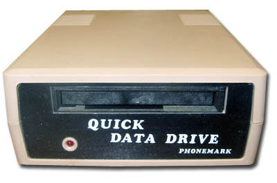 Frontal quick data drive