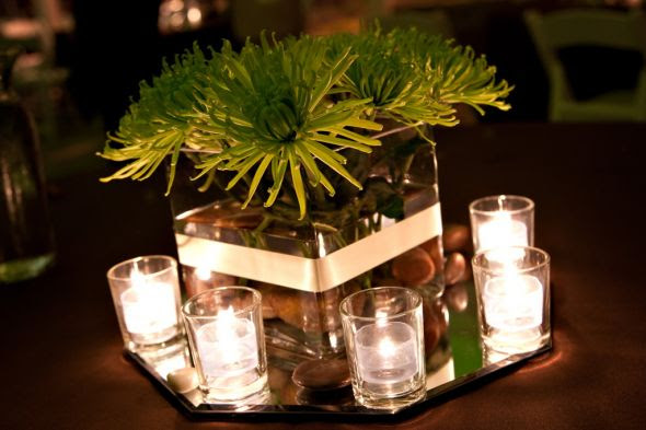 Centerpiece help wedding centerpieces flowers Green Mum Centerpieces