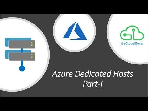 Azure Hosts Explained| Azure Dedicated Hosts step by step| Host Groups |