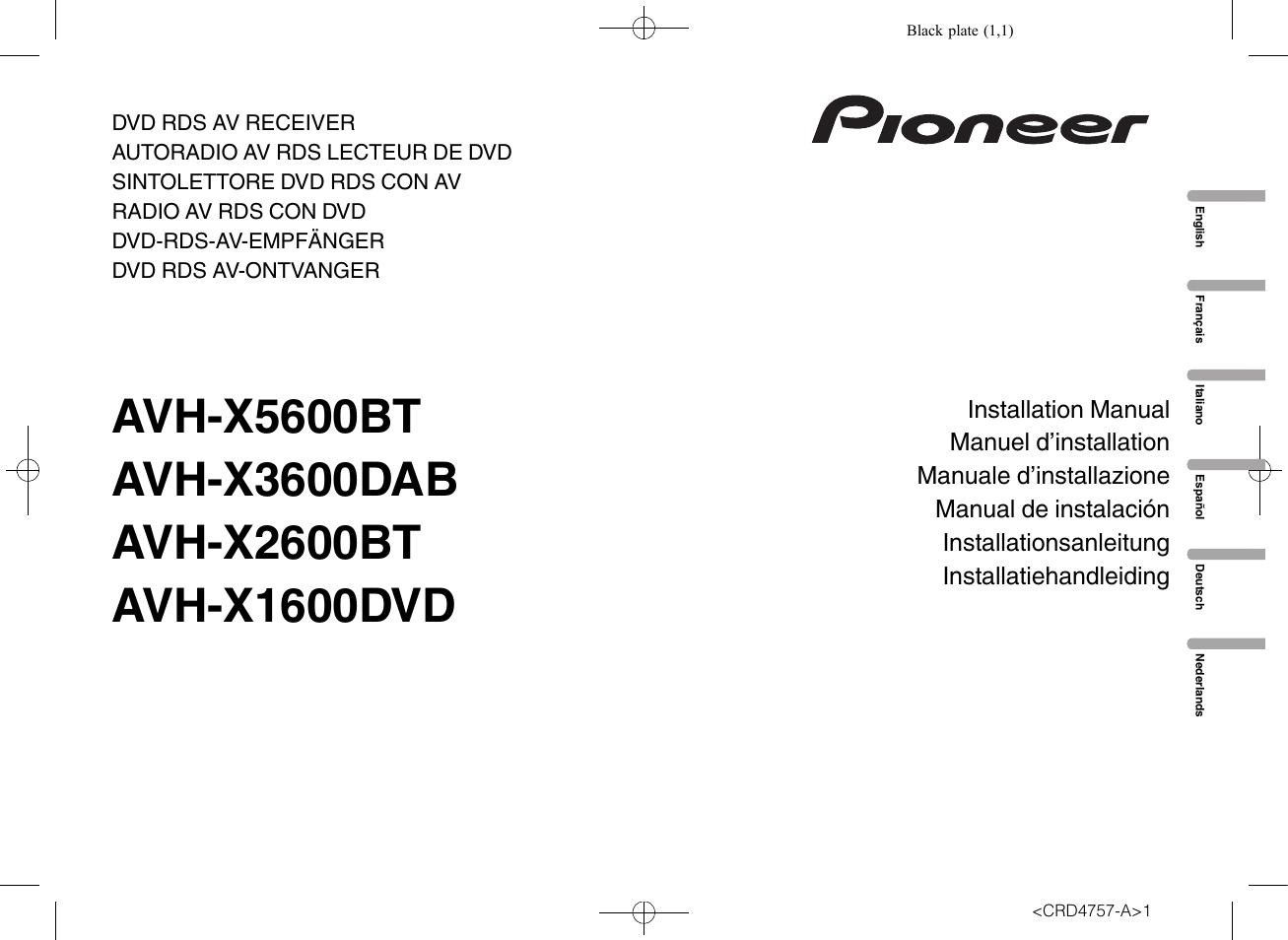 pioneer avh x2600bt wiring diagram - diagram stream pioneer avh x2600bt wiring diagram  diagram stream