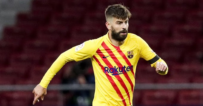 Barca defender Pique decides against knee surgery, set to miss 4 months instead of 6