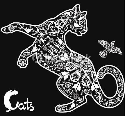 Latest Sfondo Gatto Disegno Sfondo