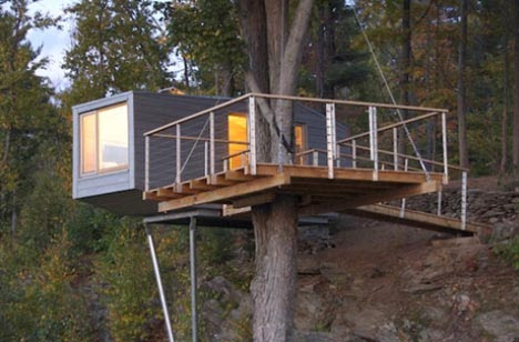 Modern Tree Living Creative Treehouse Designs Plans Designs Ideas On Dornob