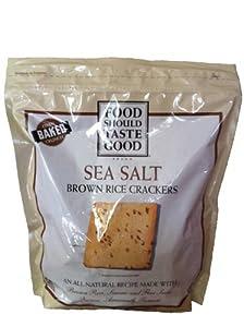 Amazon.com : Food Should Taste Good Brown Rice Crackers ...