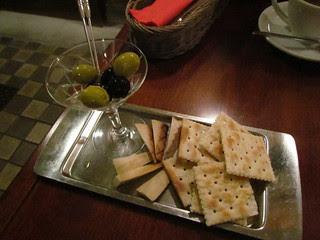Matsuontoko - Smoked tofu and olives