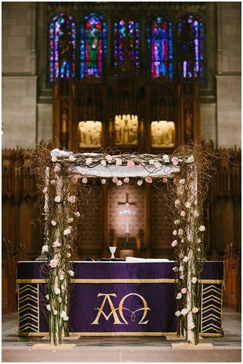 A Duke Chapel and Nasher Museum Wedding