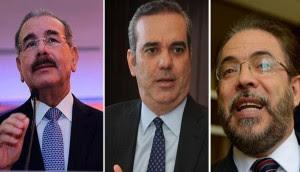Según 7 encuestas Danilo Medina gana elecciones 2016