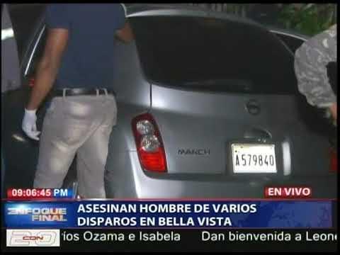 El hombre asesinado de 8 disparos en Bella Vista
