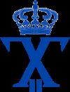 Royal Monogram of King George II of Greece.svg
