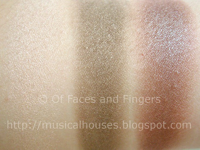 mua pro eyeshadow trio swatches