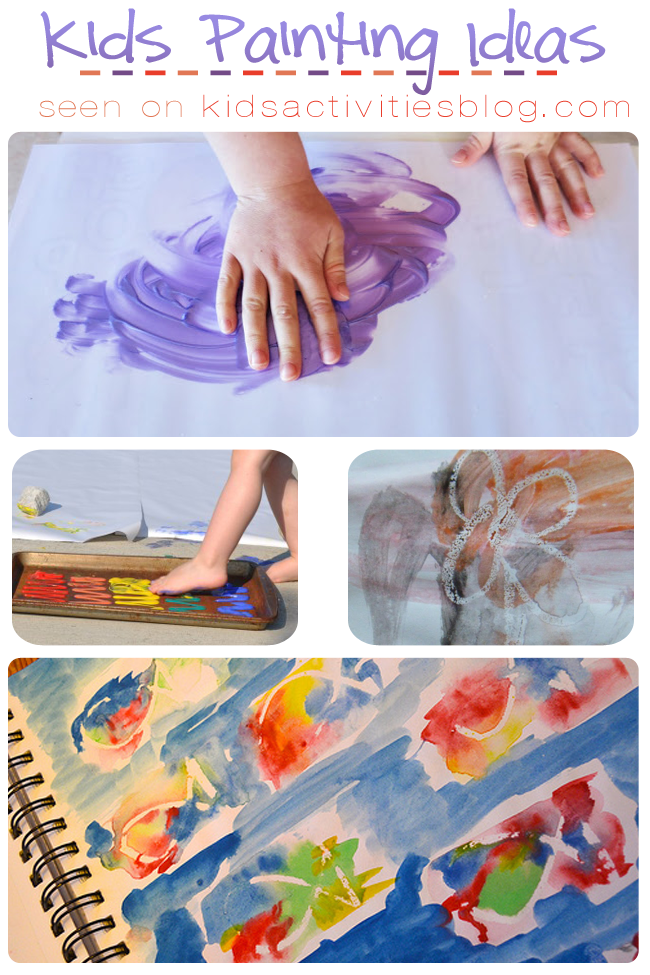 8 Creative Kids Painting Ideas to Try at Home - Kids Activities Blog