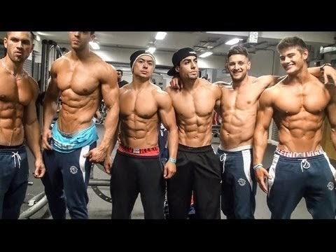 aesthetic fitness  culturistas