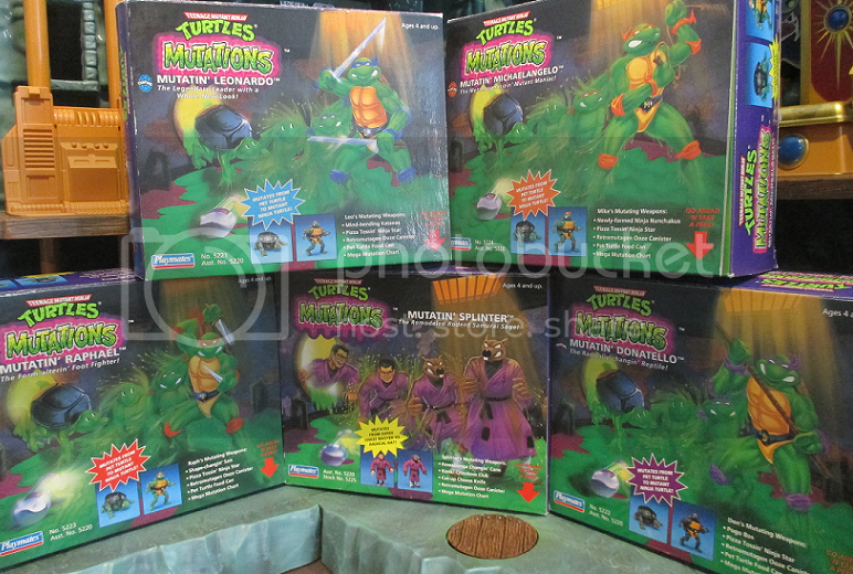 Old Time Toys And Games : Tmnt mutations an old fashioned christmas haul best toy