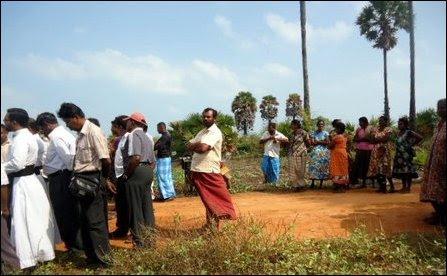 Peasaalai villagers mobilize against genocidal land grab