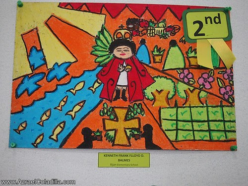 """Sto. Nino ng Batangan"" Childrens drawing contest and exhibit in SM City Batangas"