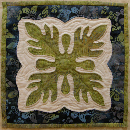 Hawaiian Applique